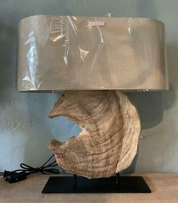 Table / Desk Lamp - Natural Wood Driftwood Centrepiece - Contemporary Design • 125£