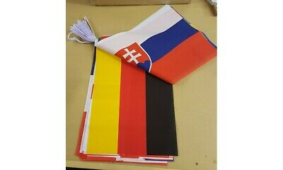 24 European Nations Giant Polyester Bunting -15m (24 Large Flags)FANTASIC OFFER  • 9.99£