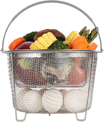 $24.63 • Buy Aozita Steamer Basket For Instant Pot Accessories 6 Qt Or 8 Quart - 2 Tier...