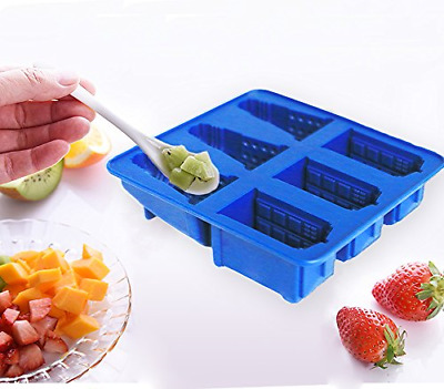 Joyoldelf Doctor Who Silicone Ice Cube Tray And Chocolate,Candy,Cookies Mold - • 13.95£