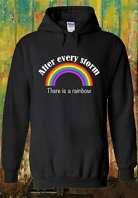 After Every Storm There Is Rainbow NHS Heroes Hoodie Men Women Unisex Top 2530 • 14.95£