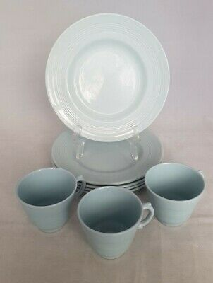 Woods Ware Iris Side Plates ×5 And 3 × Small Cups  • 22£