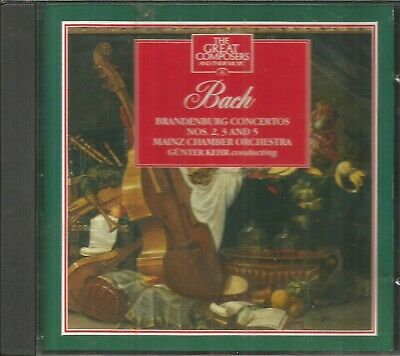 Great Composers ~ #22 ~ Bach ~ Music Cd • 1.99£