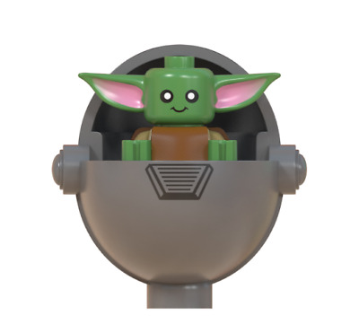 $4.50 • Buy Baby Yoda & Silver Carriage Minifigure Figure Usa Seller New In Package