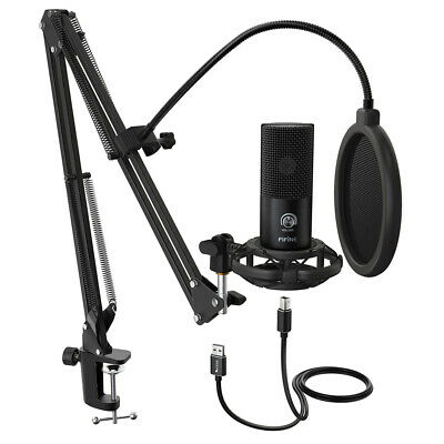 AU89.95 • Buy Fifine Technology USB Condenser Streaming/Recording Microphone/Filter/Desk Stand