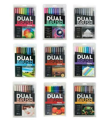 AU39.95 • Buy Tombow ~ DUAL BRUSH MARKERS PENS ~  Choose Your Colours!! New & Sealed! RRP $55