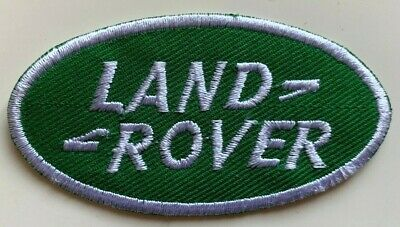 LAND ROVER / RANGE ROVER LOGO- HIGH QUALITY - Embroidered Iron On Sew On PATCH • 2.49£