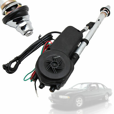 Power Antenna Aerial AM/FM Radio Mast Kit For Mercedes R129 W124 W126 W201 W202 • 40.99£