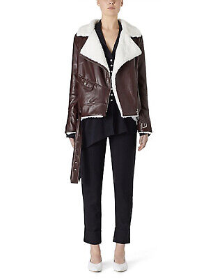AU550 • Buy Viktoria And Woods Wolfgang Leather Jacket Size 0 RRP $1200