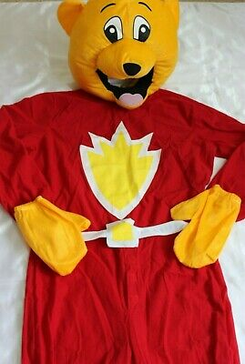 SMIFFYS Adult Superted Bear Costume Fancy Dress PARTY New Condition • 34£