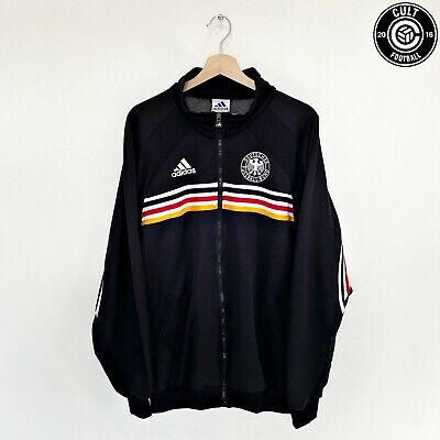 1998/00 GERMANY World Cup France 1998 Adidas Jacket Track Top (XL) 46/48 • 69.99£