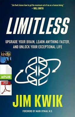 $2.99 • Buy Limitless: Upgrade Your Brain, Learn Anything Faste By Jim Kwik [E-VERSION]