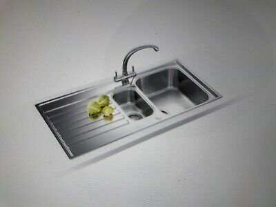 Franke Ascona 1.5 Bowl Stainless Steel Sink - Brand New In Box. Waste Included • 60£