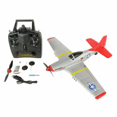 Sonik P-51 Mustang 400 Ready To Fly 4-Channel With Flight Stabilisation RC Plane • 74.95£