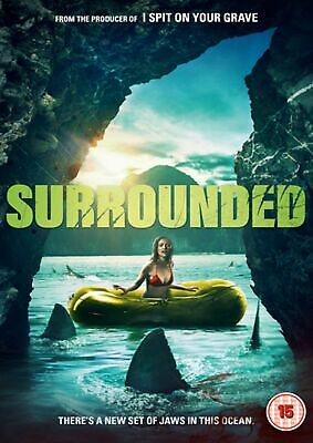 Surrounded [DVD] Shark Jaws Style Horror Movie NEW Gift Idea Scary Film  • 3.65£