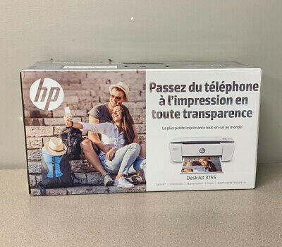 View Details HP DeskJet 3755 Compact All-in-One Wireless Printer With Mobile Printing, J9V91A • 104.95$