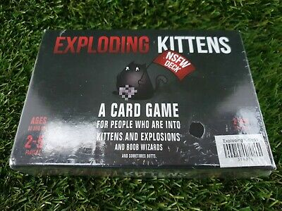 AU32.50 • Buy Exploding Kittens NSFW Edition Card Game Are You Into Kittens And EXPLOSIONS New