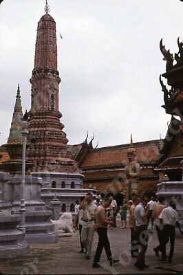 $7.99 • Buy Sl00 Original Slide 1960's Singapore Temple Tourists Military On Leave 747a