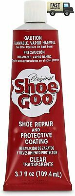 $13.98 • Buy Shoe Goo Repair Adhesive For Fixing Worn Shoes Boots, Clear, 3.7-Ounce Tube