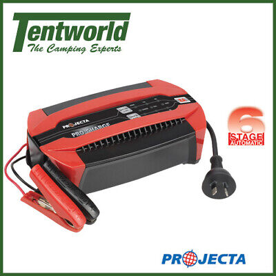 AU149.99 • Buy Projecta Campsite Power Pro-Charge Automatic 12 Volt 6 Stage Battery Charger 8A