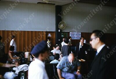 $7.99 • Buy Sl00 Original Slide 1960's Taiwan Airport Lobby 196a