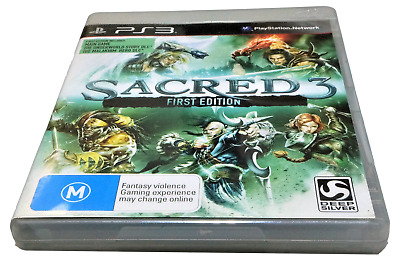 AU24.90 • Buy Sacred 3 First Edition Sony PS3