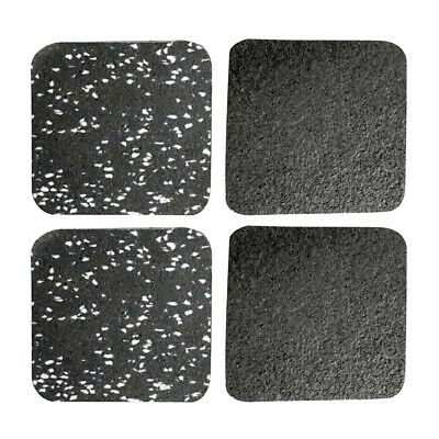 AU18.04 • Buy 4x Thickened Treadmill Noise Absorption Mat Rubber Home Gym Fitness Cushion
