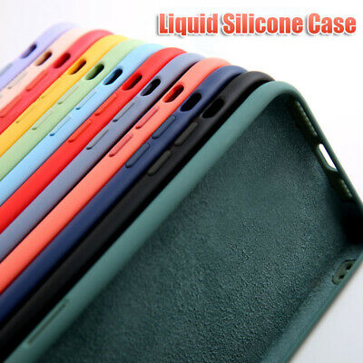 $ CDN3.79 • Buy For Samsung S20 Ultra Note 10 Plus 9 S10E S9 S8 Soft Liquid Silicone Case Cover