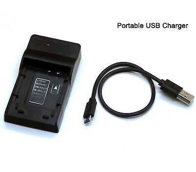 AU17.88 • Buy USB Battery Charger For Panasonic Lumix DMC-FZ40 FZ45 FZ48 FZ60 FZ80 FZ100 FZ150