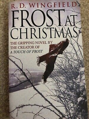 Frost At Christmas: (DI Jack Frost Book 1) By R D Wingfield FAST POST • 1.99£