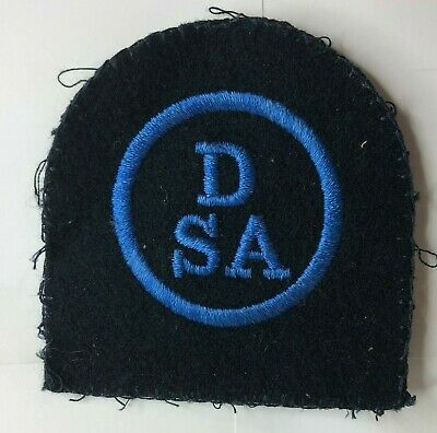 1960s WRNS Womens Royal Naval Service Wren Dental Service Assistant Badge Patch  • 10£