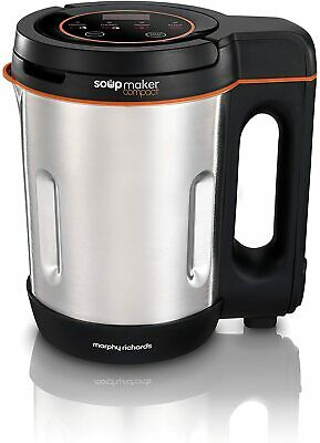 Morphy Richards Compact Soup Maker 501021 Stainless Steel 1 Litre, 900 W • 37£