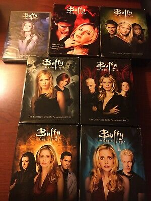 $76.99 • Buy Buffy The Vampire Slayer Complete Series Seasons 1-7 (DVD) Excellent Disc(s)