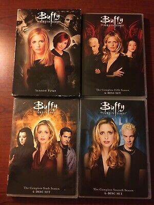 $6.99 • Buy Buffy The Vampire Slayer Complete Seasons 4-7 Four Five Six Seven 4 5 6 7