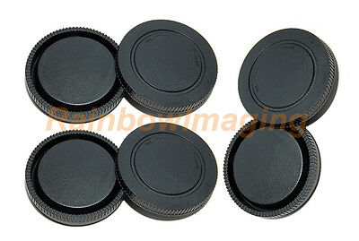 $ CDN7.02 • Buy (3 Pack) Lens Rear Caps +Body Covers For Sony A6500 A6300 A6100 A6000 A5100