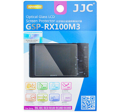 $ CDN8.04 • Buy JJC GSP-RX100M3 Tempered Glass LCD Screen Protector For SONY RX100 RX100II RX1