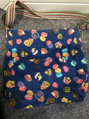 Dark Blue Cupcake Anna Smith Messenger Style Bag, Only Been Used Once! • 2.99£