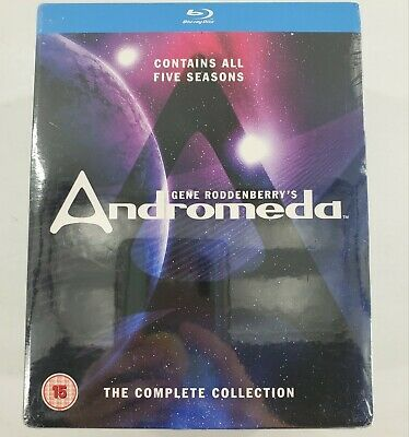 Andromeda: The Complete Collection - Seasons 1 2 3 4 5 [Blu-ray Set Region Free] • 54.27£