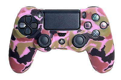 AU9.90 • Buy Silicone Cover For PS4 Controller Case Skin - Pale Pink Camo