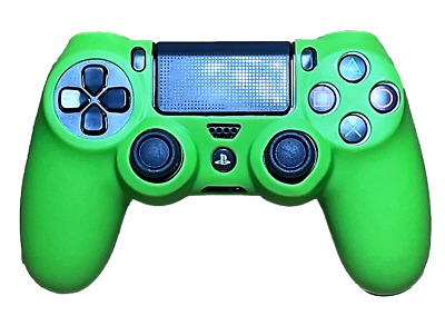 AU8.90 • Buy Silicone Cover For PS4 Controller Case Skin - Green