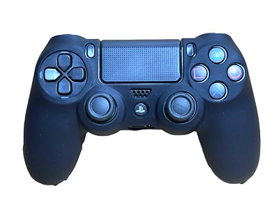 AU8.90 • Buy Silicone Cover For PS4 Controller Case Skin - Black