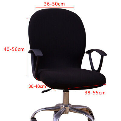 AU7.50 • Buy Swivel Seat Computer Chair Cover Stretch Office Protector Seat Cover Fashion Hot