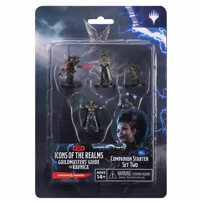 AU44.95 • Buy Dungeons & Dragons Guildmasters Guide To Ravnica Companion Starter Set 2 Figures