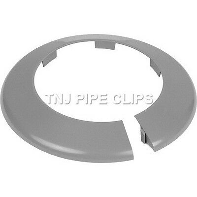 Toilet Soil Pipe Cover - Collar - 110mm Grey • 3.75£