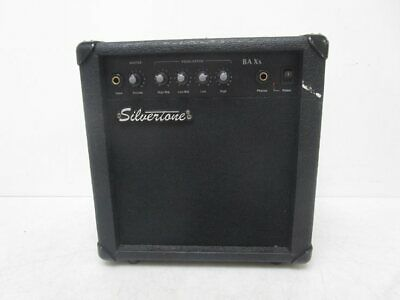 $ CDN13.81 • Buy Silvertone BA Xs Bass Guitar Combo Amplifier - Tested