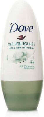 Dove Natural Touch - 48hr Roll On Deodorant 50ml • 4.25£