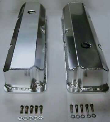 $1079.99 • Buy Ford FE Tall Fabricated Aluminum Valve Covers With Hole 352 390 427 428 BBF