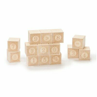 $19.36 • Buy Uncle Goose Alphablanks Numbers Blocks - Made In The USA