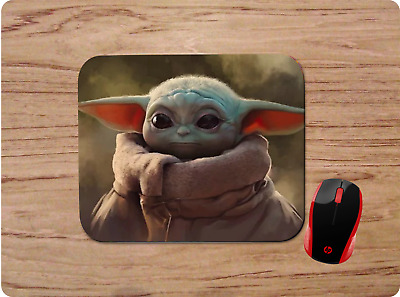 $10.99 • Buy Baby Yoda Custom Mouse Pad Neoprene Non-slip Perfect Gift Star Wars Design #8