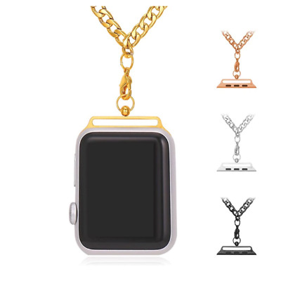 $ CDN28.61 • Buy Apple Watch Band Chain Necklace For AppleWatch Series 1/2 38mm/42mm Men/Women